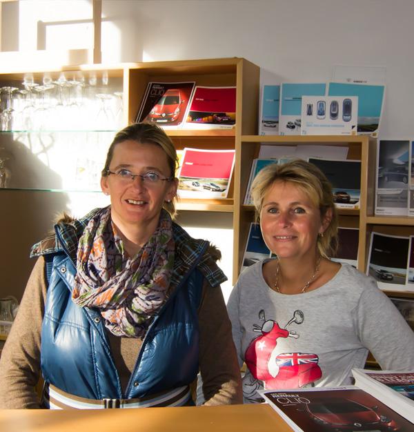 Brigitte List & Petra Turner - Büro